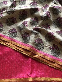 Printed art silk saree Raw Silk Saree, Silk Sarees, Color Combos, Indian Fashion, Art Prints, Printed, Collection, Art Impressions, Colour Schemes