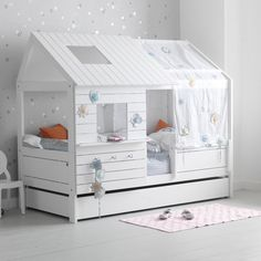 Fancy - Silversparkle Low Hut Bed