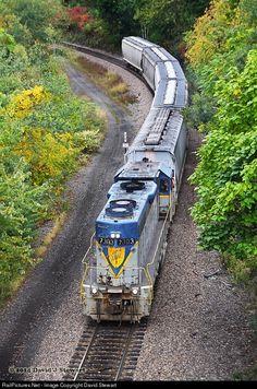 RailPictures.Net Photo: DH 7303 Delaware & Hudson EMD GP38-2 at Scranton , Pennsylvania by David Stewart