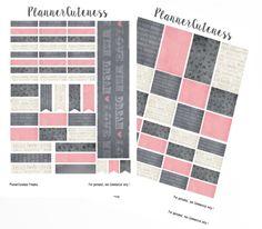 Burlesque Planner Stickers