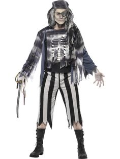 Ghostly Pirate Costume £39.99 : Direct 2 U Fancy Dress Superstore. Fancy Dress, Party Themes & Accessories For The Whole Family. http://direct2ufancydress.com/ghostly-pirate-costume-p-7712.html