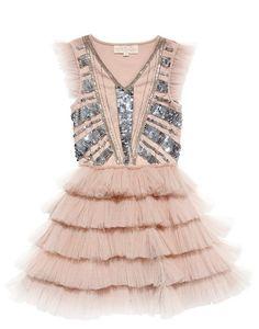 Tutu Du Monde - Dazzle Me Pretty Tutu Dress in Blush