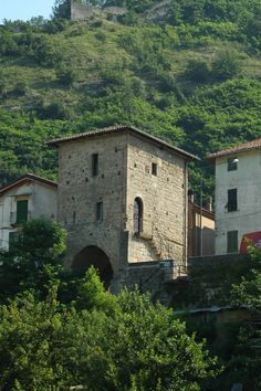 Il Portino di Gavi, from the 8th century: the only surviving architecture from the city's four ancient gates. http://www.winepassitaly.it/index.php/en/travel-wineries-piedmont/maps-and-wine-zones/gavi-and-tortonese/focus/gavi