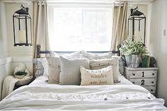 Guest Bedroom Makeover: Lanterns -