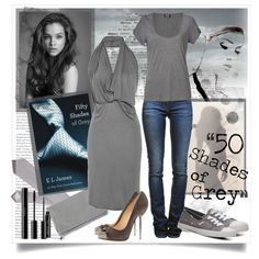 Ana Steele by ahill on Polyvore