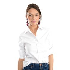 The Shirt by Rochelle Behrens  THE WHITE ESSENTIALS ICON SHIRT
