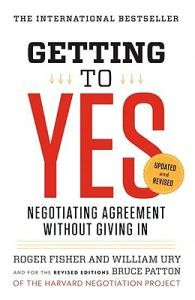 Getting to yes, negotiating agreement without giving in