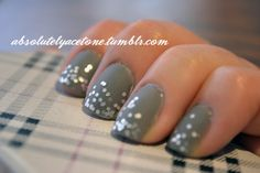 China Glaze Recycle  Milani Jewel FX Silver  Essie Matte About You