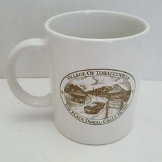 Village of Tobaccoville The Place Doral Calls Home NC Ceramic Mug