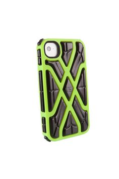Sweet case for iPhone 4 and 4s. Looks cool, but still durable.