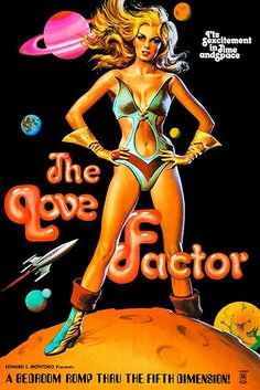 The Love Factor - 1969 - Movie Poster
