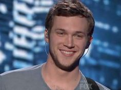 Phillip Phillips on American idol he did awesome