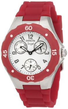 Invicta Women's 0701 Angel Collection Cranberry Multi-Function Rubber Watch Invicta http://www.amazon.com/dp/B004D9NB96/ref=cm_sw_r_pi_dp_RGo8tb0PYC15P