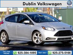 2013 Ford Focus ST  41k miles Call for Price 41627 miles 925-384-1095 Transmission: Manual  #Ford #Focus ST #used #cars #DublinVolkswagen #Dublin #CA #tapcars