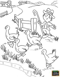 Free FarmTime In The Classroom Coloring Page Teach Elementary