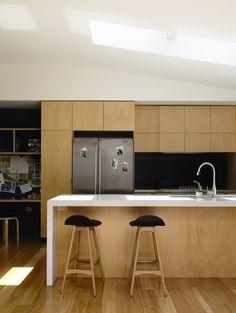 Rob Kennon Architects | Batten & Board House
