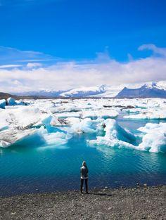 Jökulsárlón Lagoon   Svava Sparey Yoga Holidays #iceland