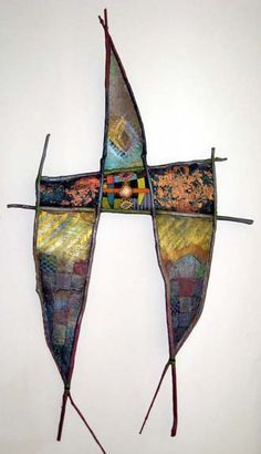Flying Sun Bird Mixed Media :: Adirondack Weaver