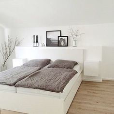 Fine Kleine Schlafzimmer Ideen Modern that you must know, Youre in good company if you?re looking for Kleine Schlafzimmer Ideen Modern Ikea Bedroom Design, Gray Bedroom, Home Bedroom, Modern Bedroom, Interior Design Living Room, Bedroom Furniture, Bedroom Decor, Bedroom Ideas, Bedroom Retreat