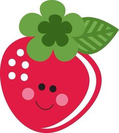 Cute Strawberry off for Members) Strawberry Clipart, Cute Strawberry, Strawberry Pictures, Silhouette Online Store, Fruit Party, Clip Art, Cute Clipart, Silhouette Design, Rock Art