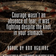 Quote from HORDE by Ann Aguirre
