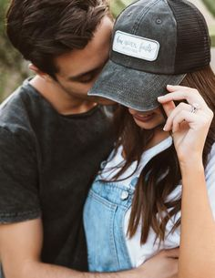 Soul Honey Clothing | Love Never Fails  ...Jess and Gabriel Conte ...women's hat ...inspirational quote