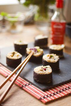 1001 façons de faire des sushis véganes maison - Antigone21.com