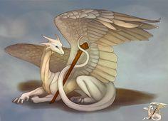 Resultado de imagem para dragon white
