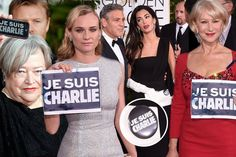 I am charlie, this is about freedom of speech, I doubt anyone in the USA would have cared if it hadn't been for the celebrities sporting je suis charlie at the golden globes. This is just sad american. Very sad.