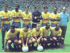 Brazillian Soccer Team of the World Cup of 1970 in Mexico - Time do Brasil da Copa do Mundo de 1970 no Mexico