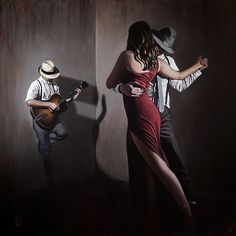 Come to Buenos Aires and feel the passion! Wine, tango, polo, cooking classes and more! For women only. Dance Like This, Just Dance, Bon Sport, Tango Art, Tango Dancers, Dance Paintings, Danse Macabre, Argentine Tango, Shall We Dance