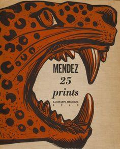 Leopoldo Méndez Mexican, 1902-1969, Portfolio Cover for Méndez: 25 Prints