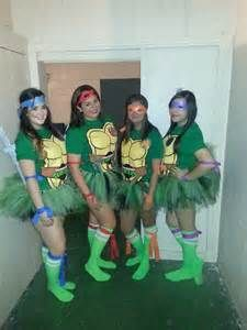 30 easy diy halloween costumes for teens diy halloween teenage ninja turtle family costumes tutus for the girls solutioingenieria Images