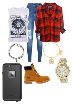 """""""Follow for a follow back!"""" by caremez ❤ liked on Polyvore featuring Lipsy, Accessorize, Timberland, Rails, Alex and Ani, Michael Kors and LifeProof"""