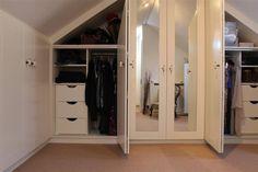 dormer bedroom storage | Bedroom Elegance | Attic Design | Attic Dormer Converted Bedrooms ...