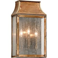 Troy Lighting Beacon Hill 3 Light Outdoor Wall Sconce with Seedy Glass Heirloom Brass Outdoor Lighting Wall Sconces Outdoor Wall Sconces Brass Outdoor Lighting, Troy Lighting, Garage Lighting, Direct Lighting, Outdoor Light Fixtures, Outdoor Wall Lantern, Outdoor Wall Sconce, Outdoor Walls, Home Lighting