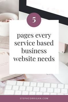 Your service based business website should display your brand's expertise, skill, and authority in your niche. These 5 pages will help you do just that. Entrepreneur, Website Optimization, Business Design, Business Tips, Web Design Tips, Website Design Inspiration, Business Website, Lead Generation, Competitor Analysis