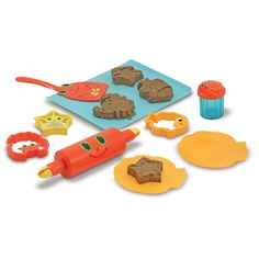 This sand cookie set is great fun for the beach or the sandpit. Kids will love creating there own cookies.