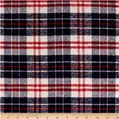 Yarn Dyed Flannel Plaid Americana