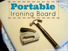 portable ironing board tutorial   easy and great for sewing retreats   patchwork posse #ironing #tutorial