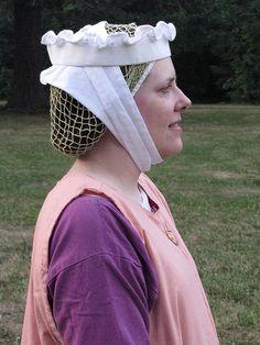 In 13th-14th Century headwear by litlnemo, via Flickr
