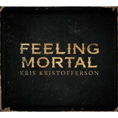 Kristofferson-La portada de su último disco Sintiéndose mortal