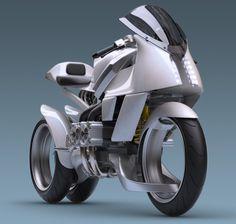 FB R2000S Concept Motorcycle by Miroslav Hundak