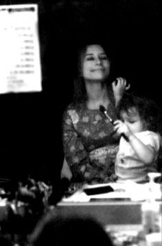 Tori Amos and her daughter, Natashya