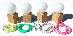 LÁMPARA CUBO | CABLE A ELECCIÓN — hausdeko Lampshade Chandelier, Wooden Chandelier, Wooden Lamp, Cool Lighting, Lighting Design, Luminaria Diy, Led Projects, Wooden Crates, Hobbies And Crafts