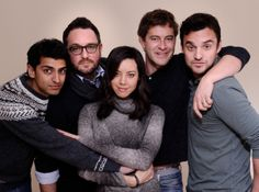 Director Colin Trevorrow and the cast of Safety Not Guaranteed