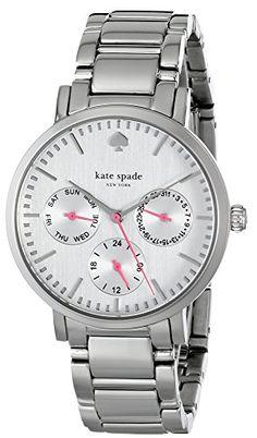 "kate spade new york Women's 1YRU0471 ""Gramercy"" Silver-Tone Stainless Steel Watch kate spade new york http://smile.amazon.com/dp/B00KNQR676/ref=cm_sw_r_pi_dp_voe-tb061E2ED"