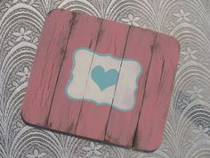"""Distressed Wooden Place Mats Set of 4.Available in """"eet""""& """"eat"""" designs. R150.00 Available in various pastel colors Home Decor Gifts - Home Decor Ideas - Gift Ideas - DIY ideas"""