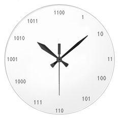 Shop Binary Clock created by InkWorks. Math Clock, Ias Study Material, Cool Clocks, Modern Clock, Math Projects, Diy Clock, Math For Kids, Circuits, Teaching Math