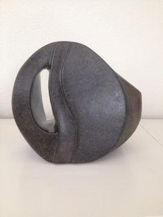Serpentijn sculpture kant 1 Elly van der Wilt